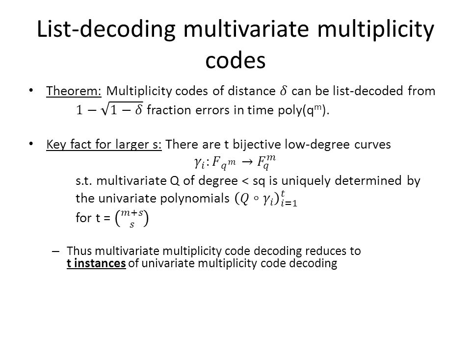 List-Decoding Multivariate Multiplicity Codes