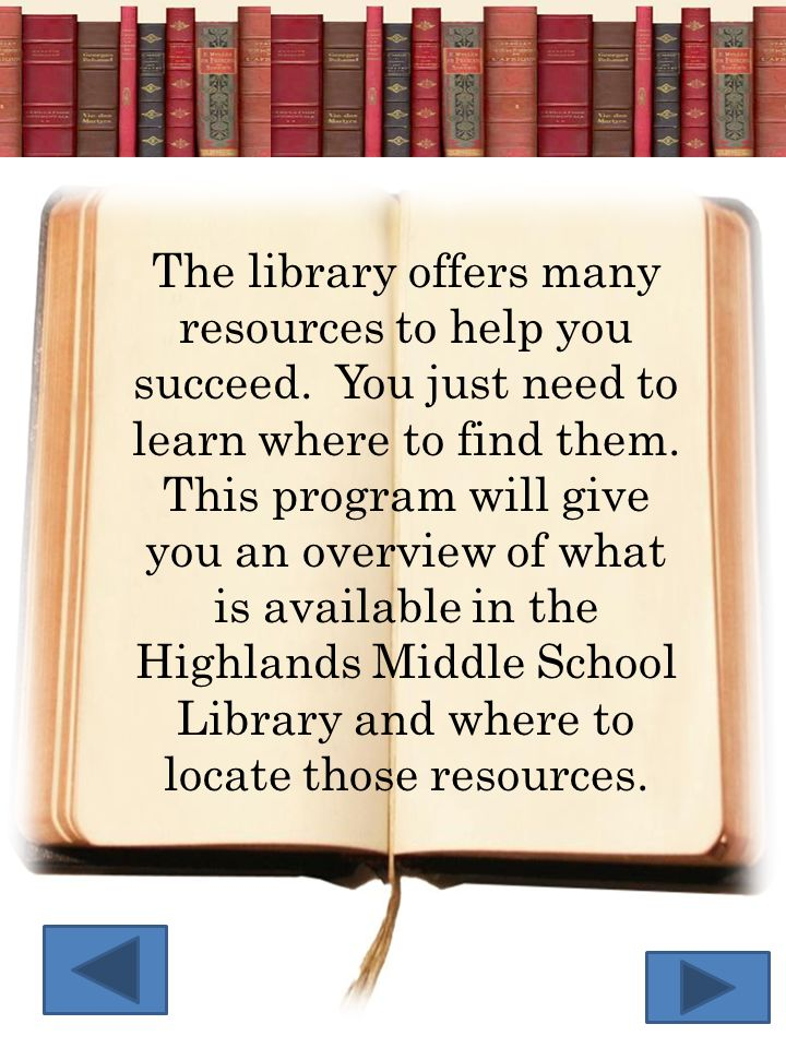 The library offers many resources to help you succeed. You just need to learn where to find them. This program will give you an overview of what is av