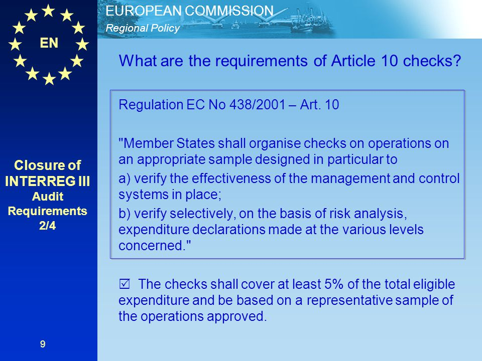 EN Regional Policy EUROPEAN COMMISSION 20 Thank you for your attention! Questions & Answers