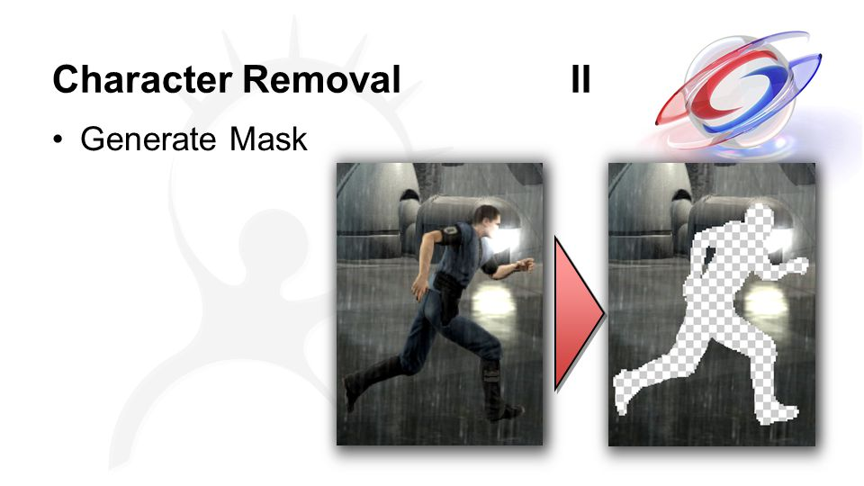 Character Removal II Generate Mask