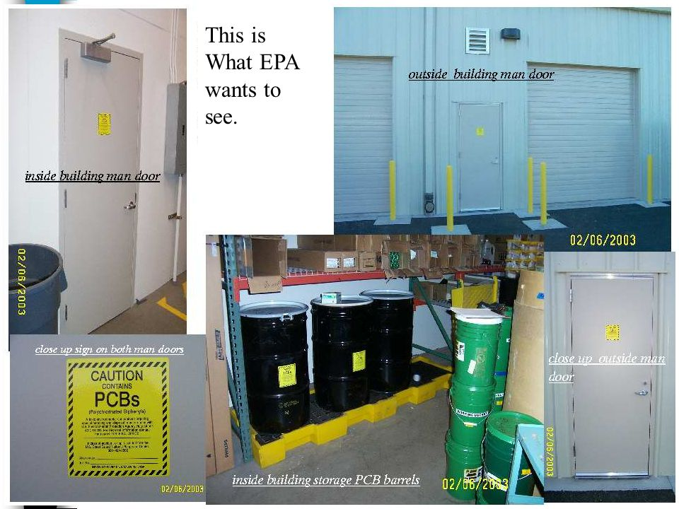 SFD Example This is What EPA wants to see.
