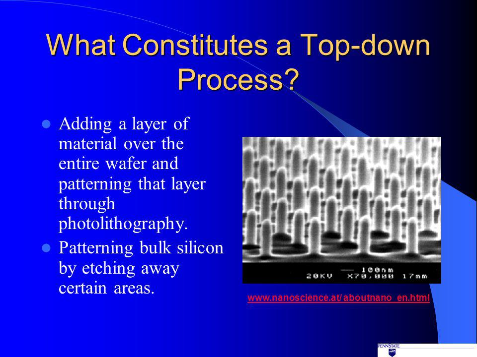 What Constitutes a Top-down Process.