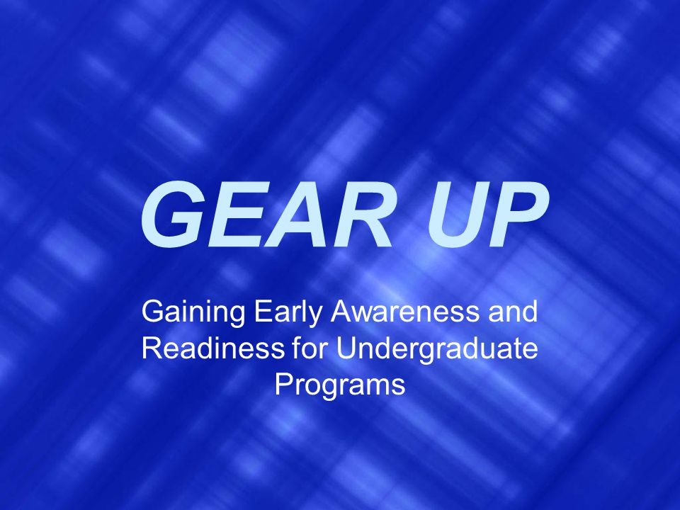 GEAR UP Council Leadership Institute Year Five