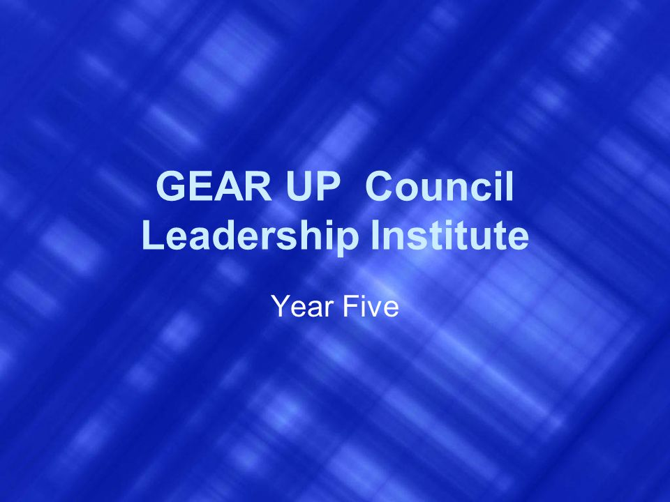 What is GEAR UP.Program funded by U. S.