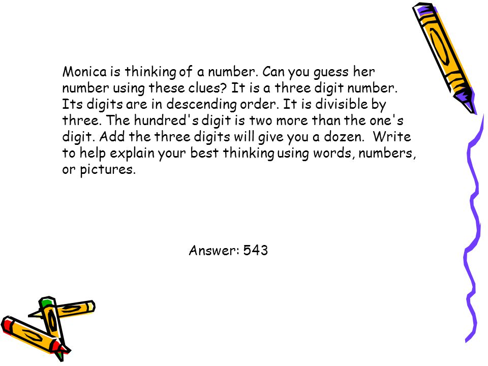 Find answers for 1x8+1=____, 12x8+2=___, 123x8+3=___, 1234x8+4=___.