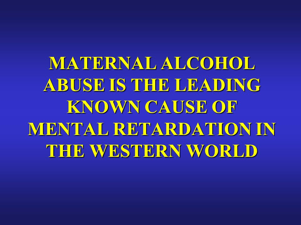 NO ONE KNOWS WHAT A SAFE AMOUNT OF ALCOHOL CONSUMPTION DURING PREGNANCY MAY BE. MAY BE.