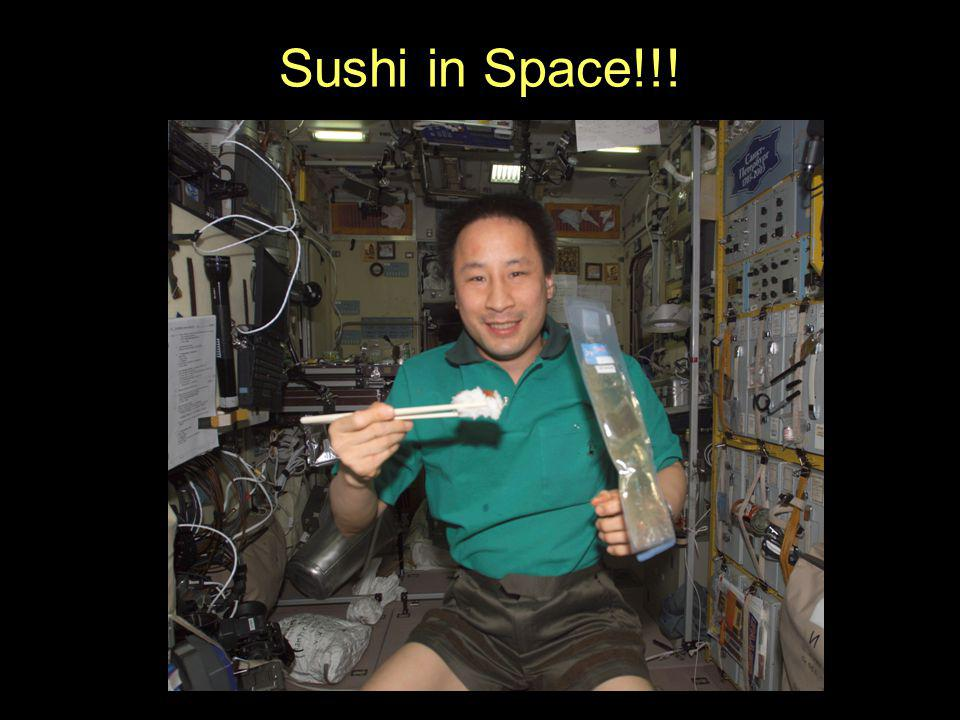 Sushi in Space!!!