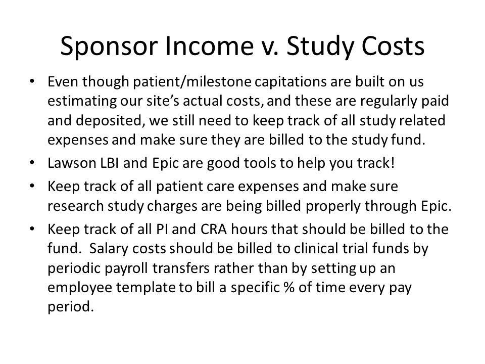 Sponsor Income v.