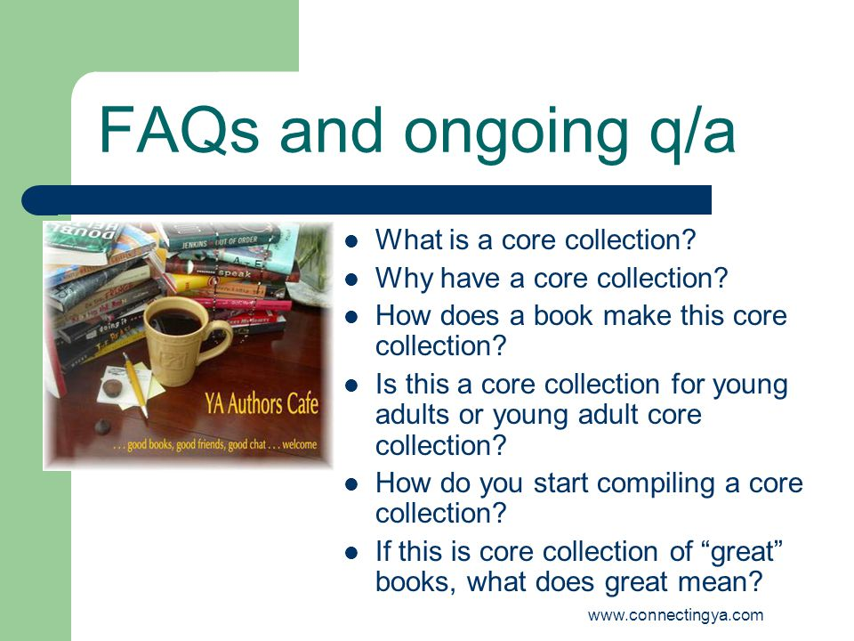 www.connectingya.com READING RESEARCH YALSA / Smartgirl Best Books Reading interest surveys: yours, mine, and ours