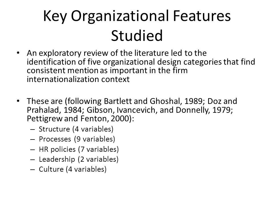 Bibliography Bartlett, C.A., Ghoshal, S., 1989.