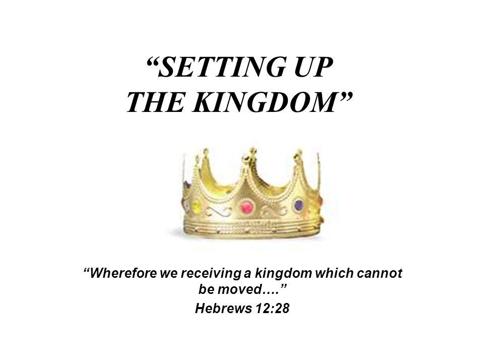 JESUS ANNOUNCED THE ESTABLISHMENT OF HIS KINGDOM Matthew 16:18 John 3:3-5 Luke 10:9 Mark 9:1