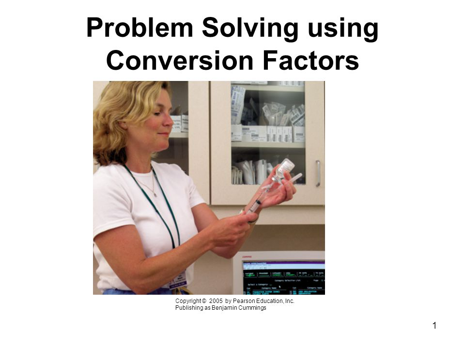 2 To solve a conversion problem you need to: Identify the given unit Identify the needed unit.