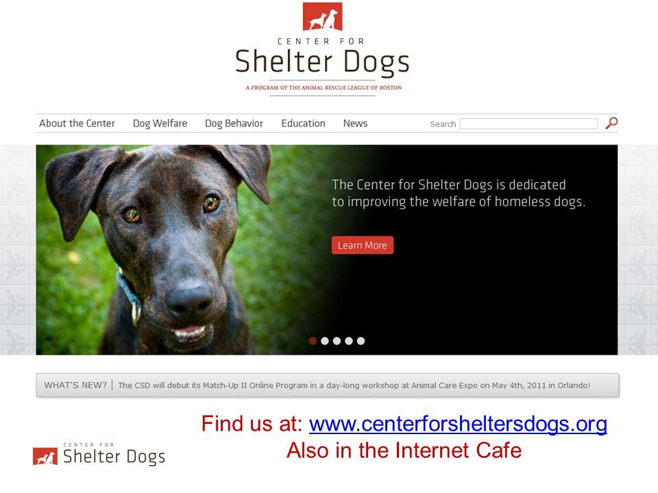 To find us through ARLB: www.arlboston.orgwww.arlboston.org Under the Behavior Tab