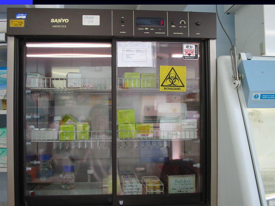 Bench-top fridge