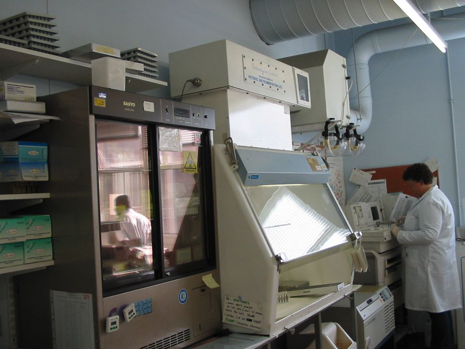 Fridge, Hood, Refrigerated centrifuge, ACL 1000