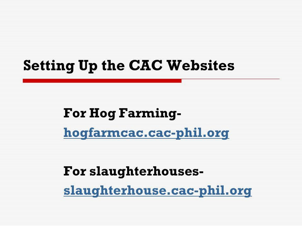 Hog Farm Compliance Assistance Website