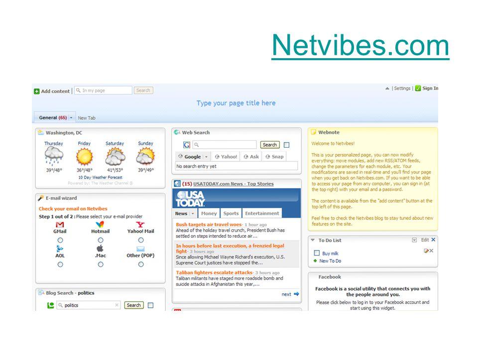 Netvibes.com