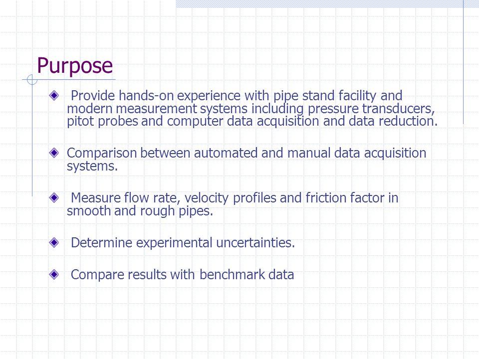 Flow rate measurement