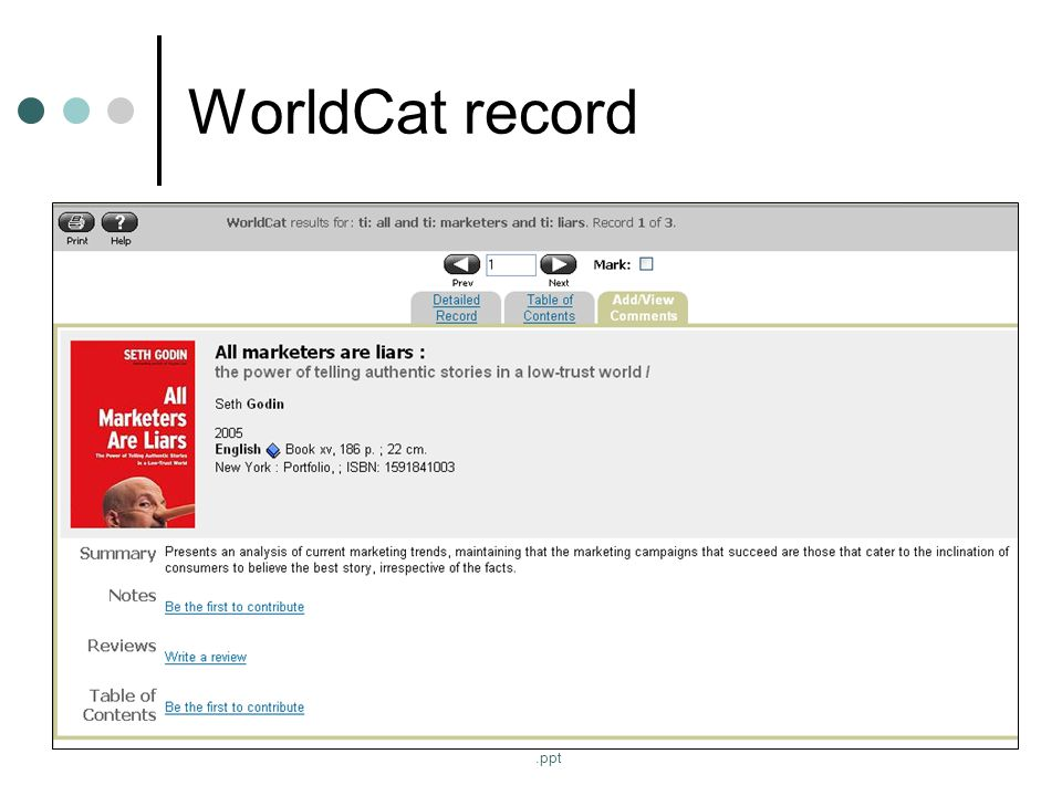 http://www.people.vcu.edu/~jsstover/solinet0506.ppt WorldCat record
