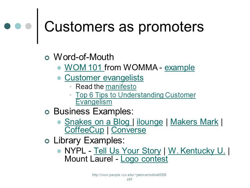 http://www.people.vcu.edu/~jsstover/solinet0506.ppt Mount Laurel Library logo contest winner (right)