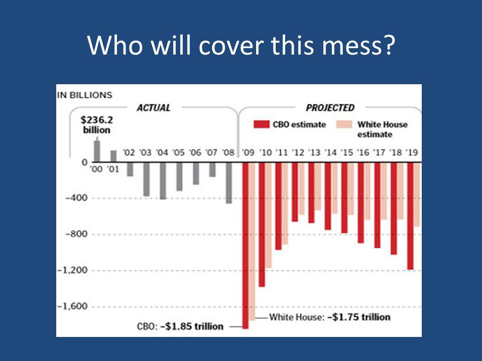 TARP then the Stimulus