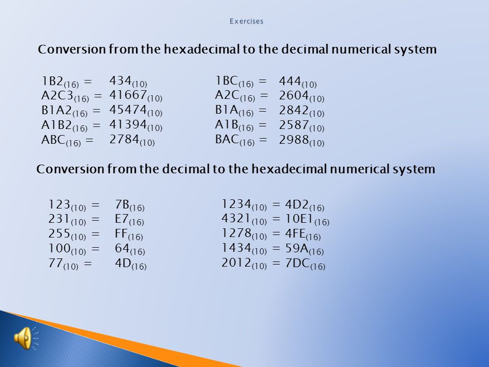 Sequential division method is often considered the basic method of division of the given decimal number by the basis of the hexadecimal system. After