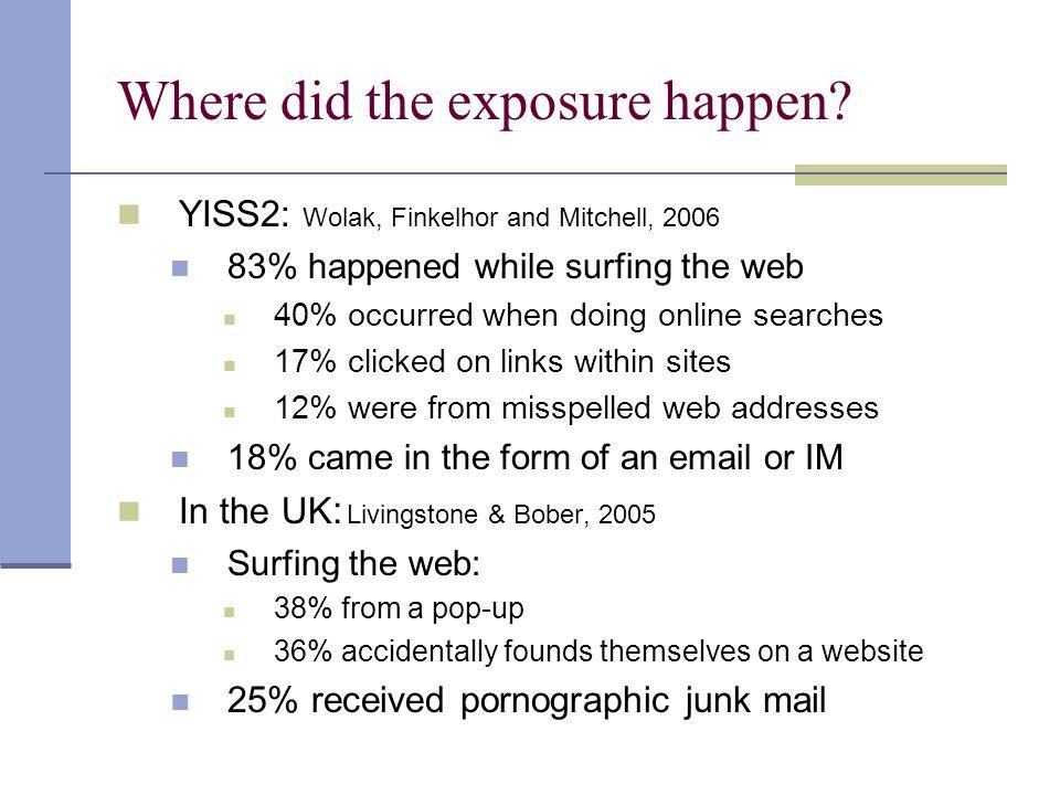 Where did the exposure happen.