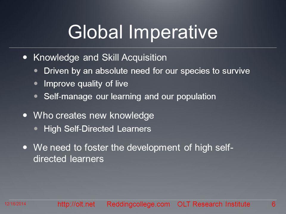 http://olt.net Questions 12/16/2014 7 Reddingcollege.com OLT Research Institute