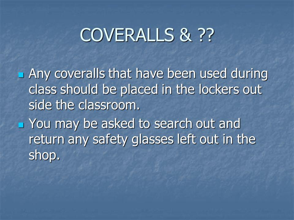 COVERALLS & ?.