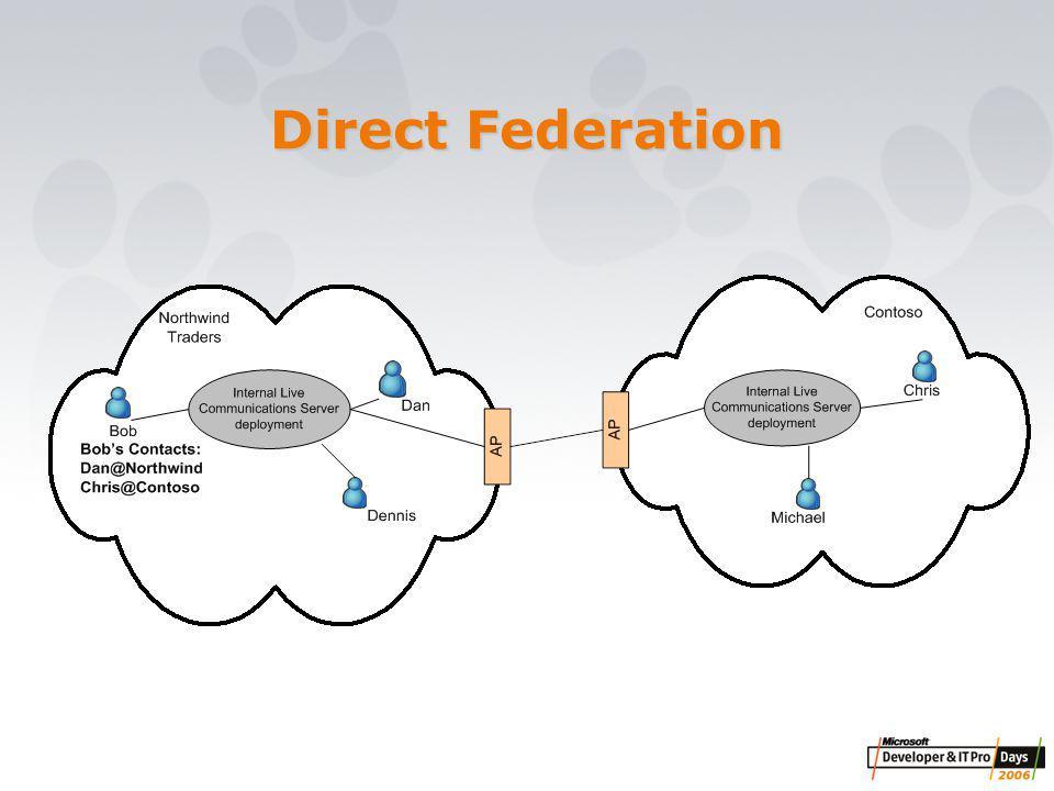 Direct Federation