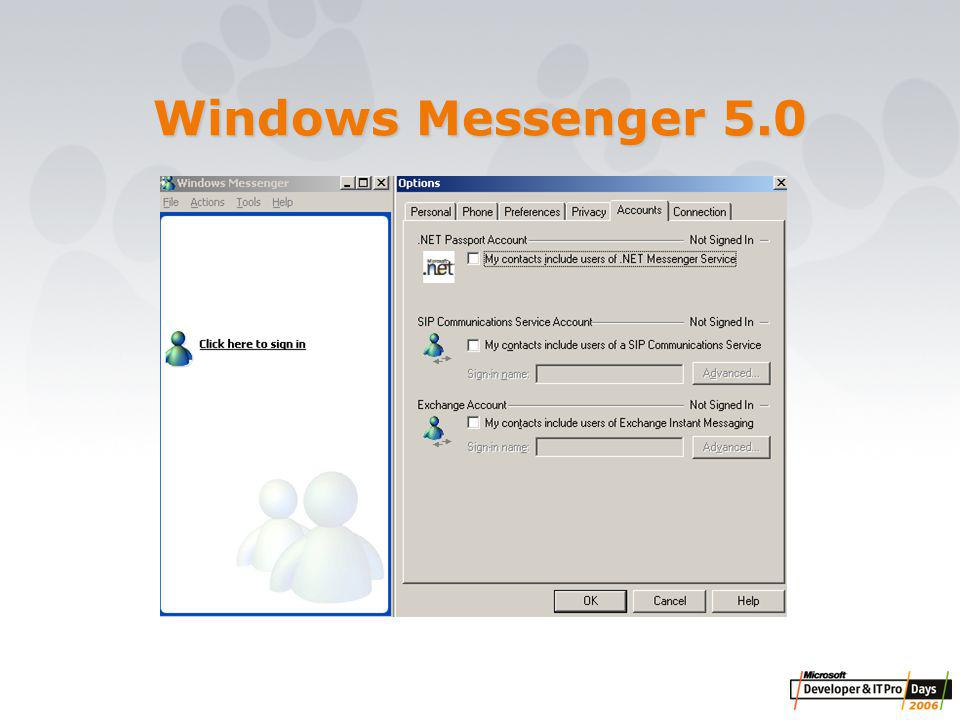 Windows Messenger 5.0