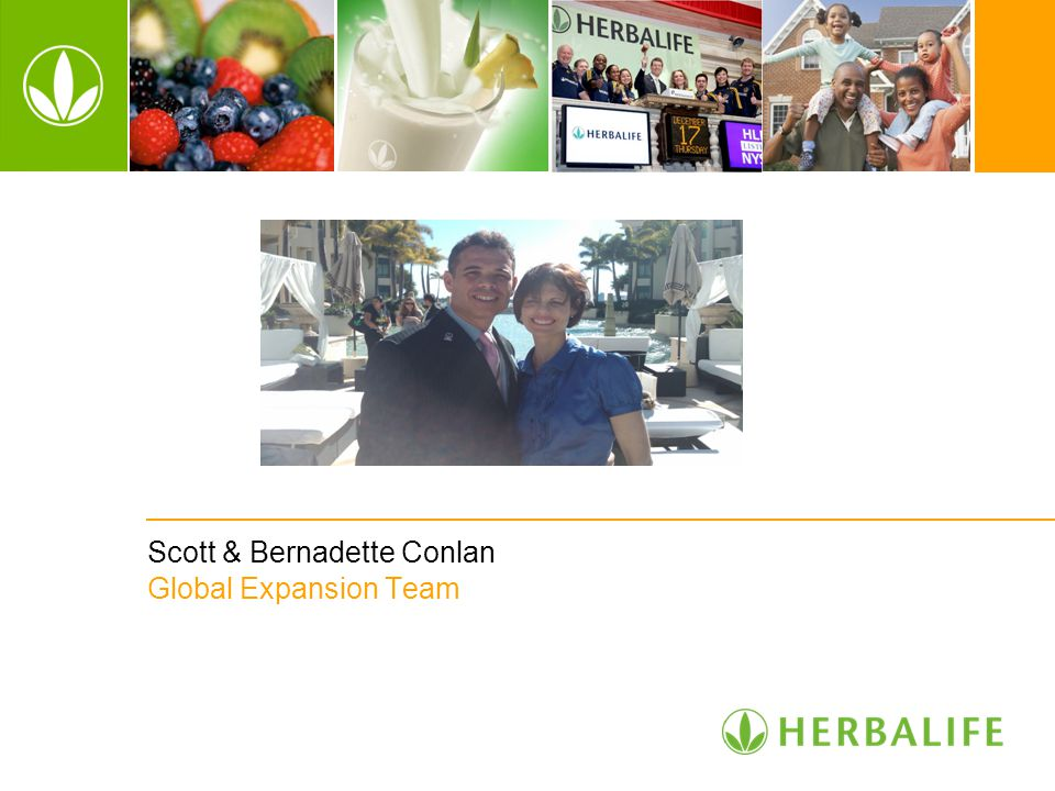 Scott & Bernadette Conlan Global Expansion Team Part 1 Distributor Training