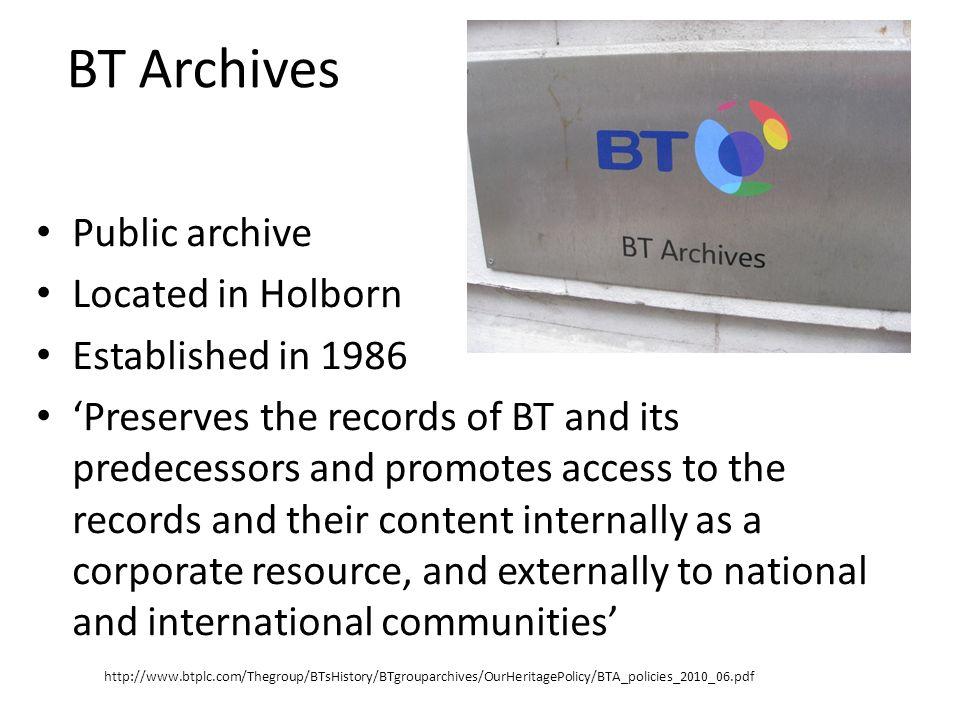 Companies The correspondence originates from 137 separate companies.