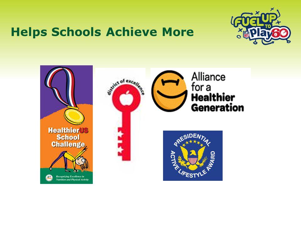Helps Schools Achieve More