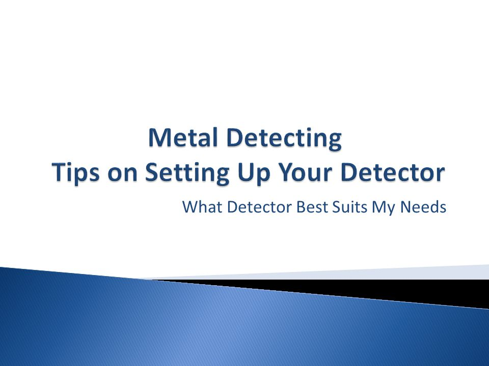 Detectors intended for prospecting gold or silver frequently will have no discrimination and always require manual ground balancing or ground tracking for best results.