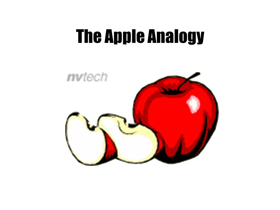 The Apple Analogy