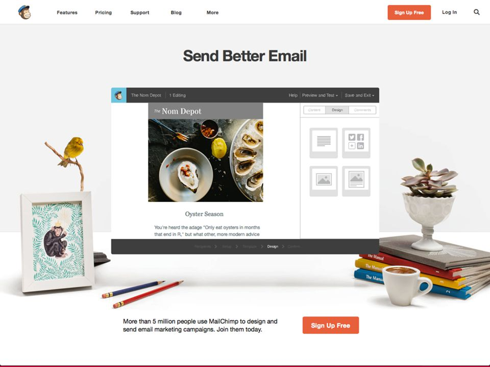 + March 19, 2014Send Your Message to the Masses : : Using MailChimp > Mailchimp home page