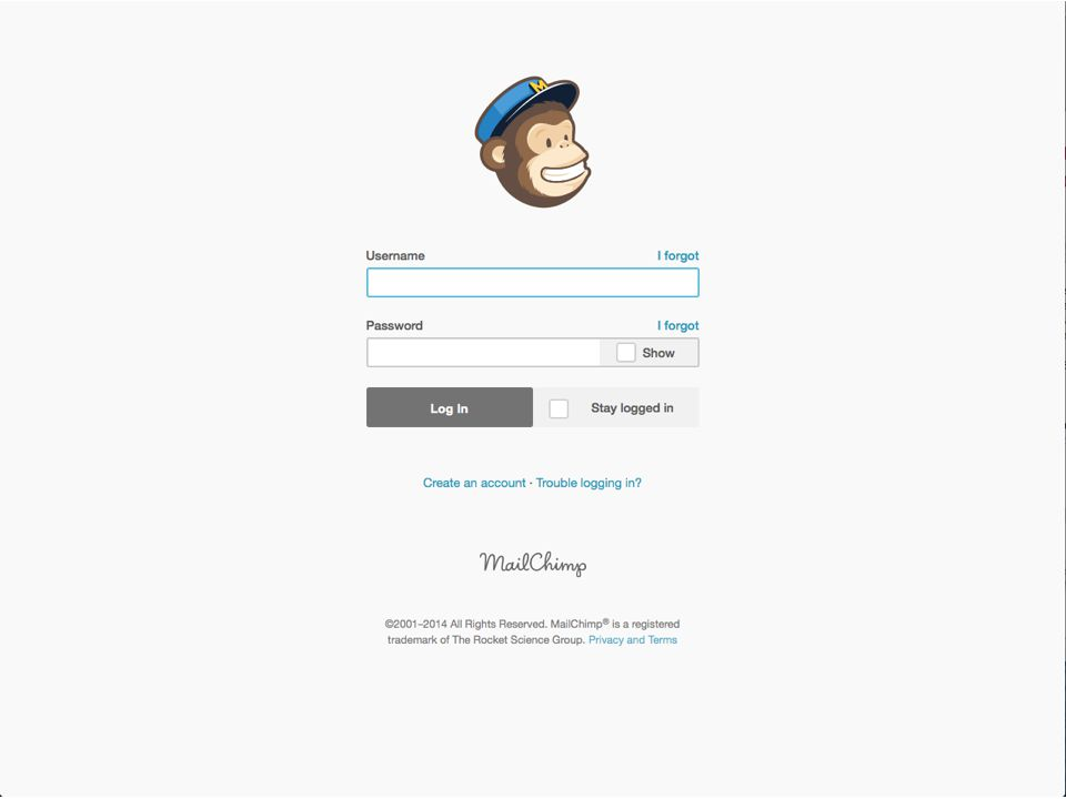 March 19, 2014Send Your Message to the Masses : : Using MailChimp  Mailchimp login