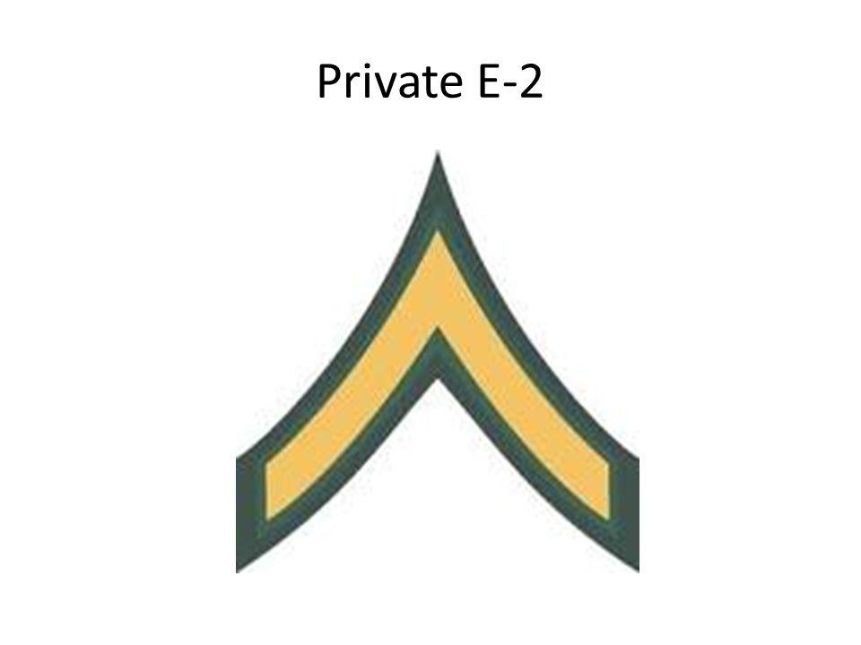 Private E-2