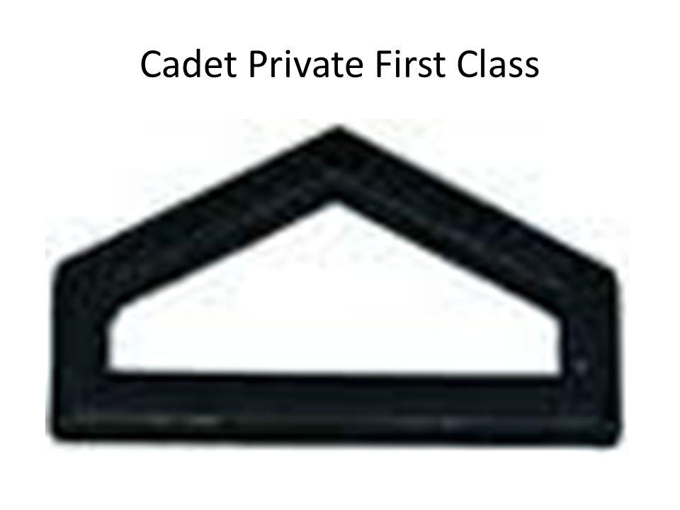 Cadet Private First Class