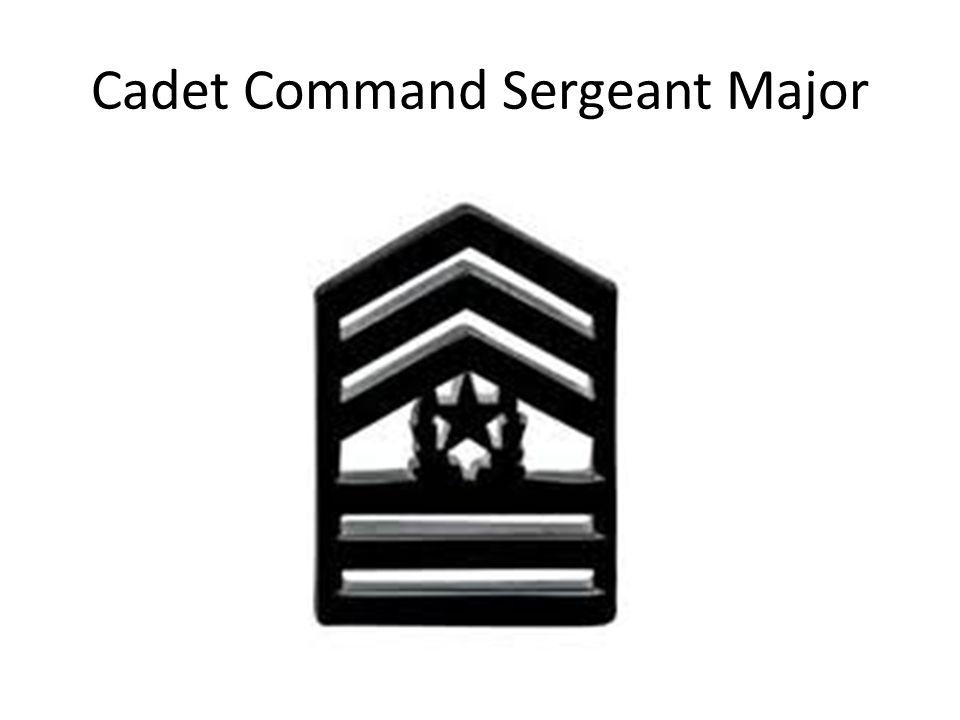 Cadet Command Sergeant Major