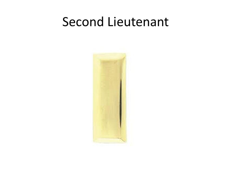 Second Lieutenant