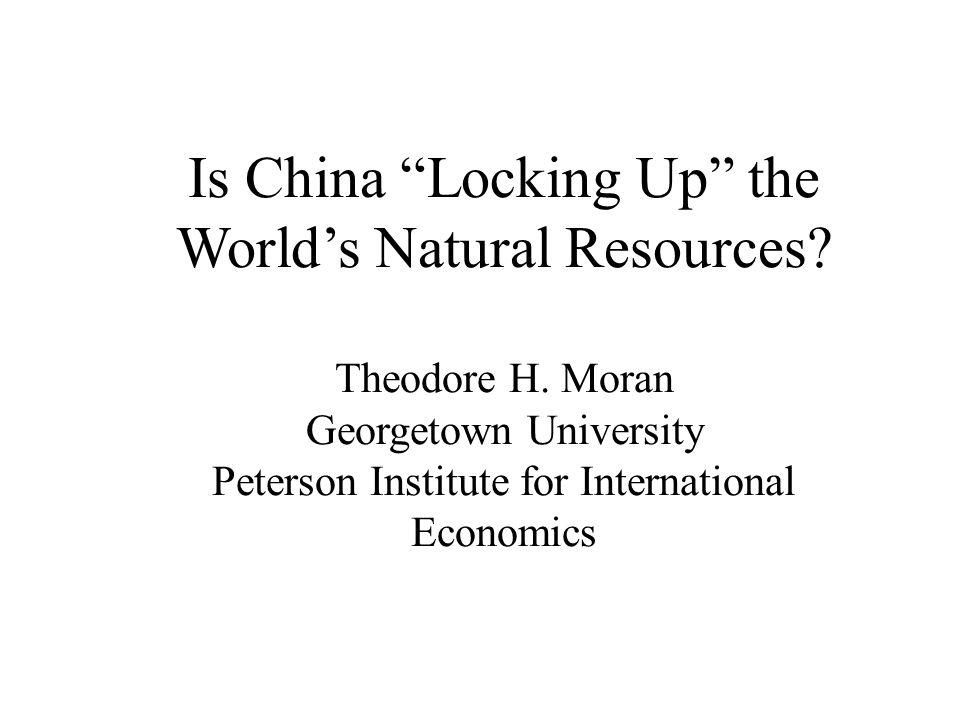 Is China Locking Up the World's Natural Resources.