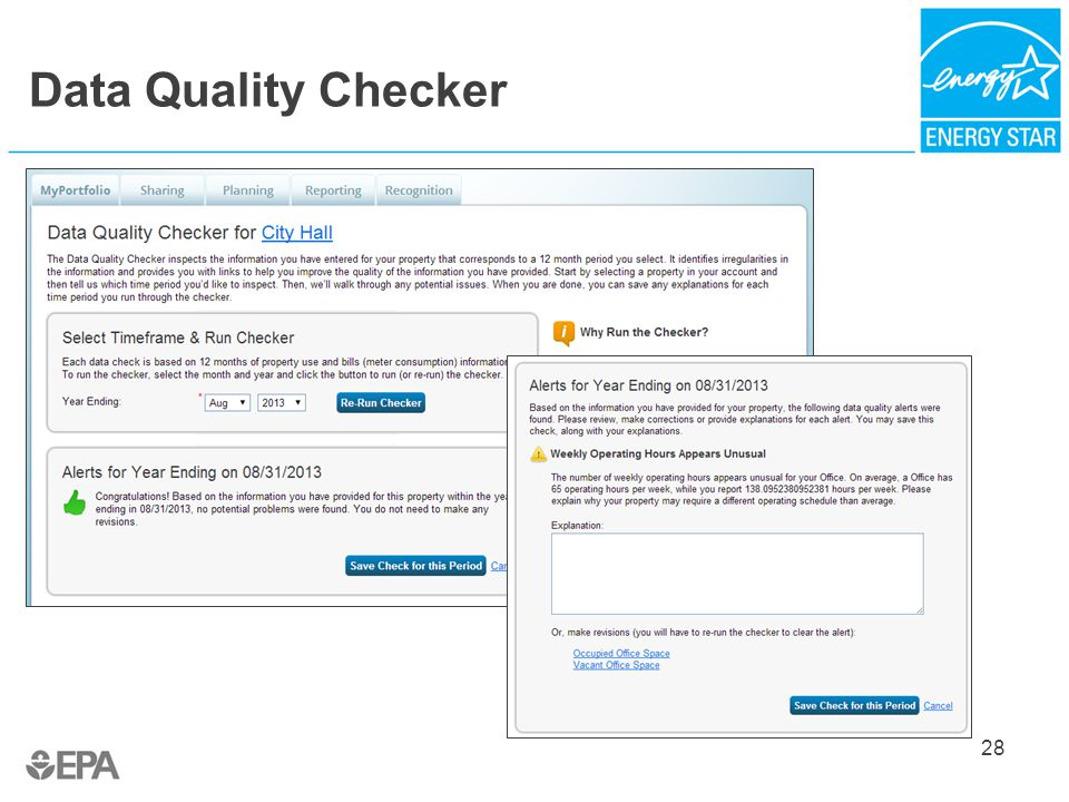 Data Quality Checker 28