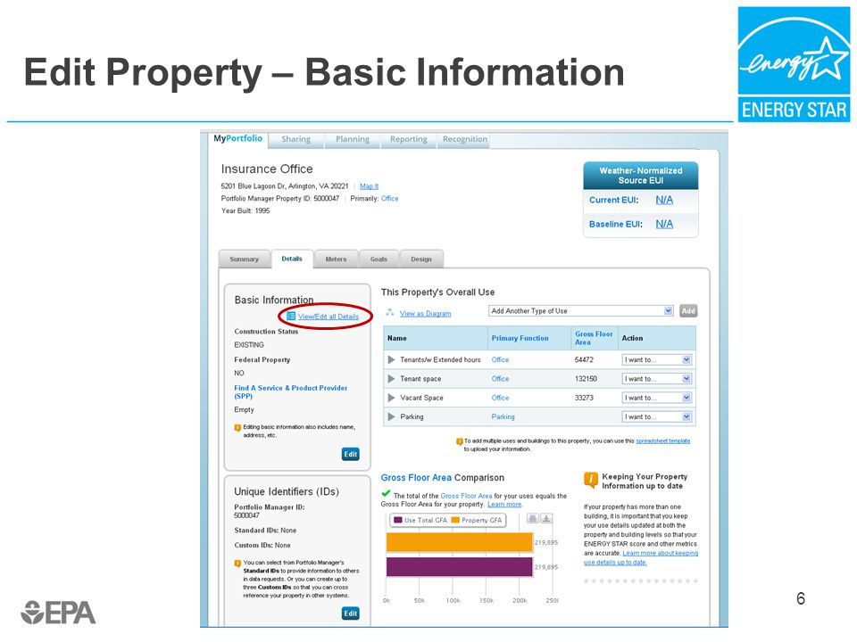 Edit Property – Basic Information 6