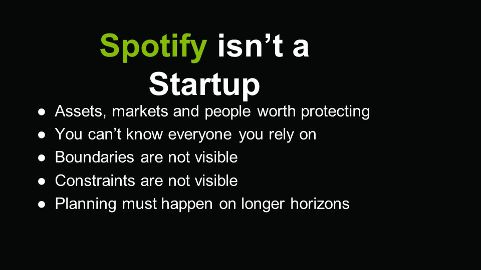 Spotify is an adhocracy, and it's awesome.