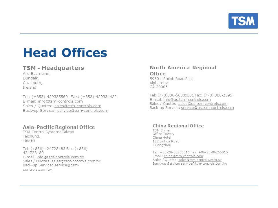 Head Offices TSM - Headquarters Ard Easmuinn, Dundalk, Co.