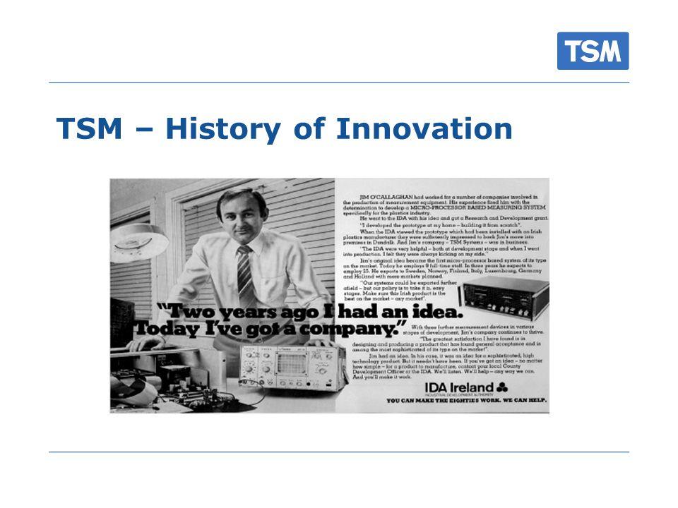 TSM – History of Innovation