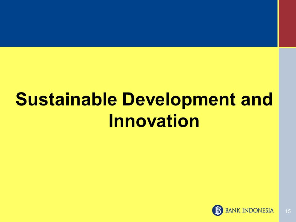 15 Sustainable Development and Innovation