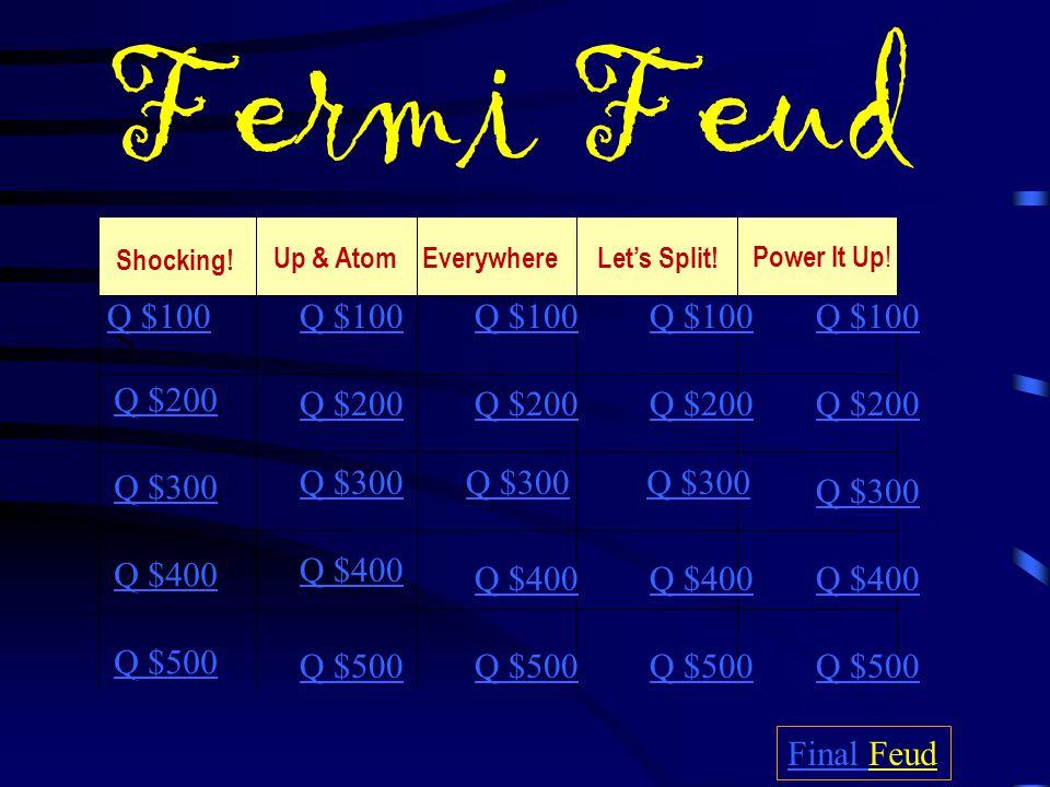 Fermi Feud